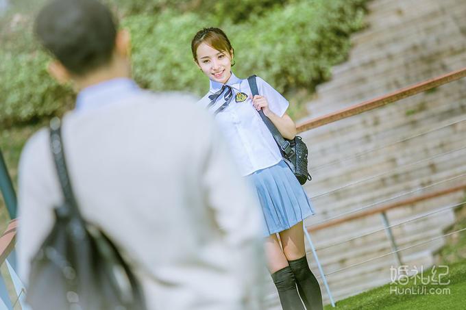 【纪绪摄影】南京体育学院4服4造清新校园风