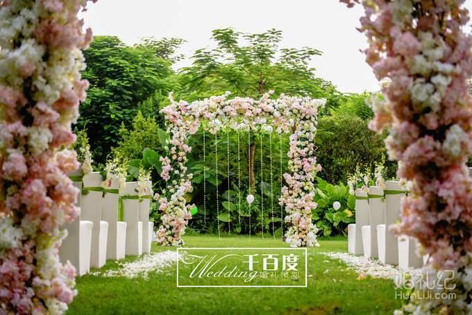 农村户外婚礼布置图片森系分享展示图片