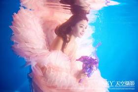 水下婚纱照《水下求婚》