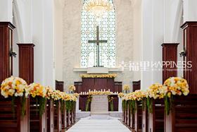 【温暖如初】小天鹅教堂婚礼现场