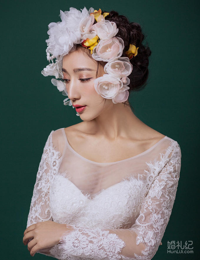 全天新娘跟妆套餐
