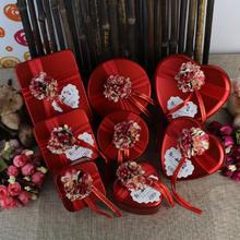 中国风婚礼糖盒欧式结婚喜糖盒子批发创意结婚用品马口铁盒可装烟
