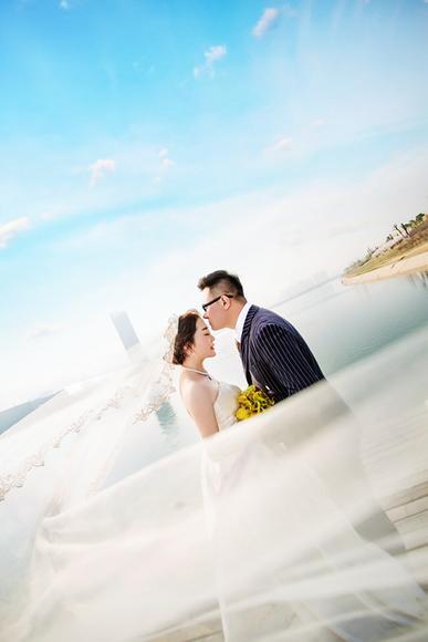 【飞鱼映像唯美韩式婚纱照】你的笑声,在耳边盘旋
