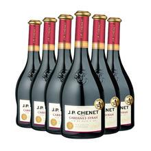 法国原瓶原装进口香奈赤霞珠西拉干红 婚宴特惠六支装