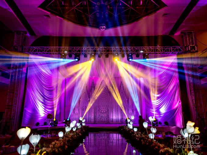 】粉紫色婚礼