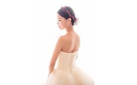 【梵希婚纱礼服】 浅色香槟系高级蓬蓬纱