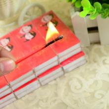 【32元包邮】10盒火柴婚礼喜庆加长婚宴喜烟火柴盒