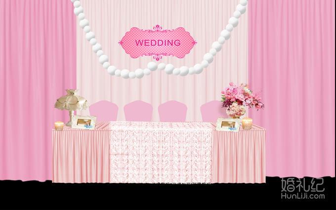 签到台背景布置装饰婚礼logo 浪漫留影区布置装饰婚礼logo 迎宾牌布置