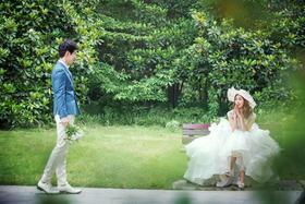 《茜茜公主》清新婚纱照系列