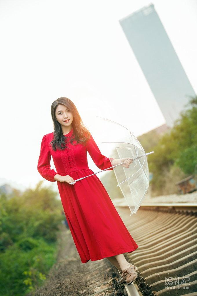 名匠之摄 吴小姐个人写真 ,婚礼摄影,婚礼纪 hunliji.