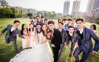 高端婚礼拍摄(单机摄影)