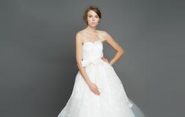 逸品定制 1417 新款欧美大牌唯美时尚蕾丝婚纱