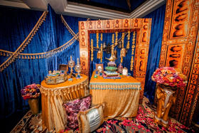 阿拉丁神灯主题婚礼布置