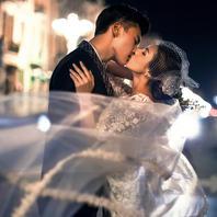 【1850婚纱摄影】热卖独特街拍夜景