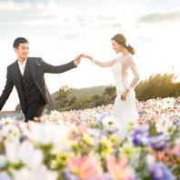 米兰新娘-四季花海、英伦小镇双重拍摄