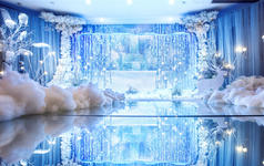 【FROZEN】—原色婚礼冰雪主题婚礼
