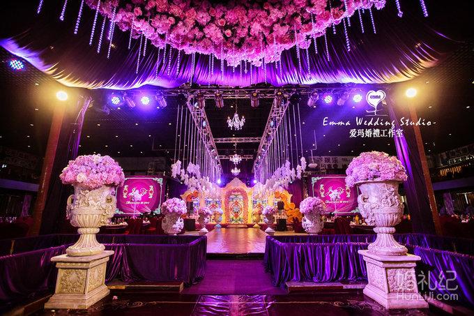 紫色城堡,婚礼策划作品