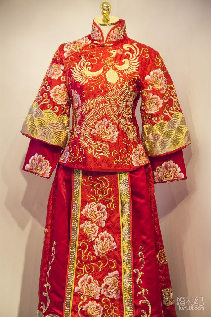 古装2,婚纱礼服设计作品欣赏,婚礼纪 hunliji.com