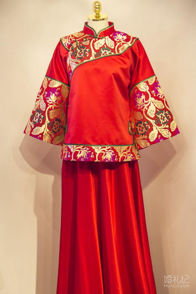 古装5,婚纱礼服设计作品欣赏,婚礼纪 hunliji.com