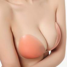 硅胶隐形文胸婚纱礼服露背装加厚防水防走光聚胸利器超粘不掉落