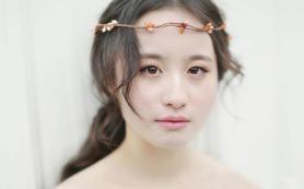 【云裳花开】新娘造型体验( 一个妆面,两个造型)