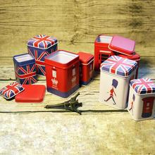 创意英伦风马口铁喜糖盒子欧式结婚礼婚庆高档个性包装糖果盒