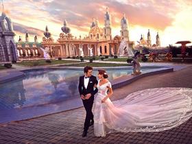 丘比特--托斯卡纳城堡欧式婚纱照