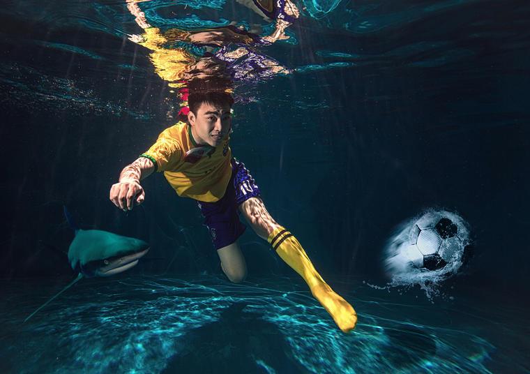 璀璨巴黎™摄影《水下》婚纱系列