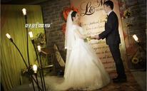 宁卧庄小厅橙色系婚礼