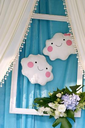 栀子花开婚礼会馆之宝石蓝与蒂芙尼蓝