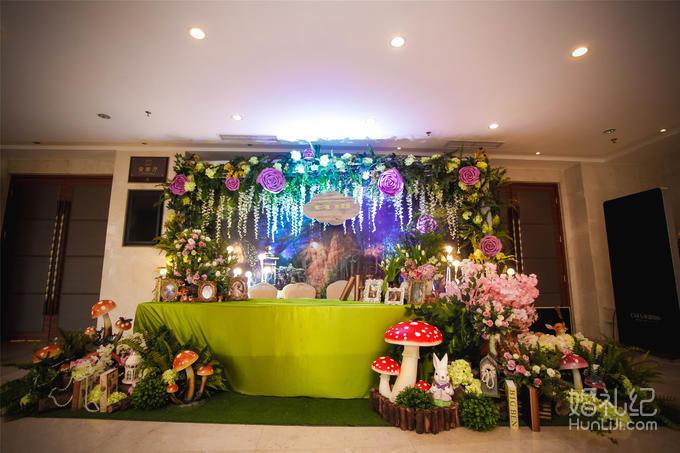 【华尔兹婚礼】 小清新森林系主题婚礼