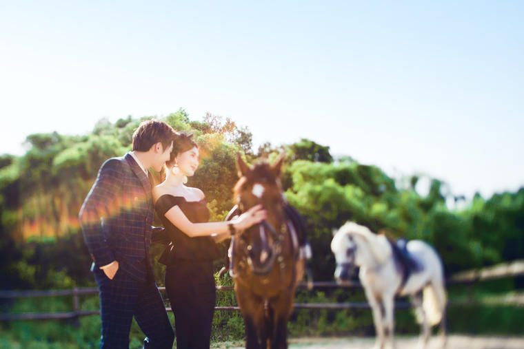 【台北时尚】实现你公主梦>骑士骏马系列