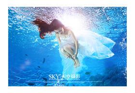 水下摄影客片欣赏--天空摄影