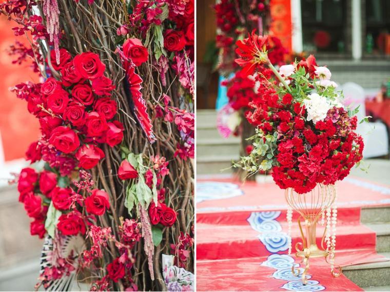 梵盛婚礼 农村庄园婚礼 汉唐复古 红色 家