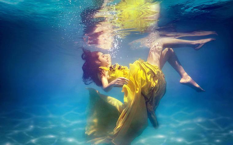 「浪漫满屋」高端水下摄影系列