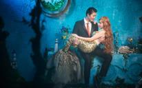 唯美梦幻浪漫美人鱼婚纱照