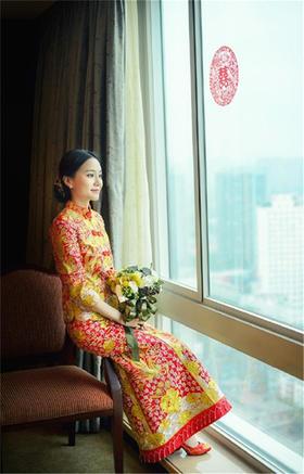 【BRIDES】喜庆年华+中式婚纱礼服