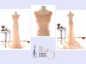 淡彩霓裳--仙气十足的敬酒晚礼服