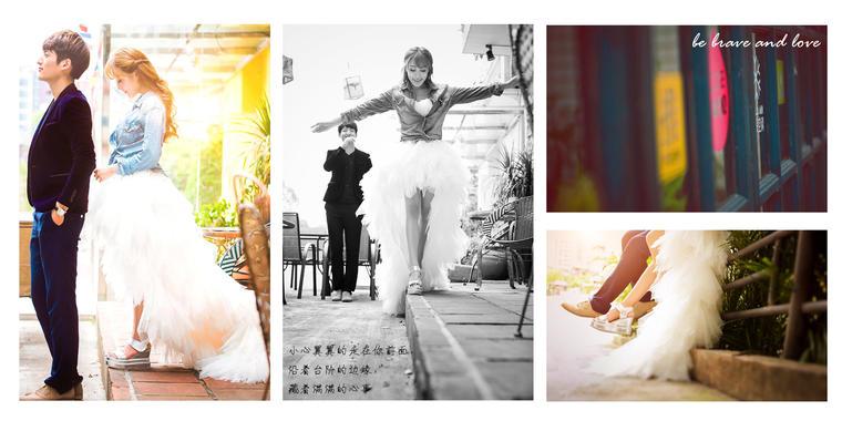 【第一映像婚纱摄影】告白书