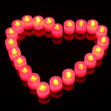 【满19.9元包邮】婚房布置浪漫求婚表白LED无烟电子蜡烛灯
