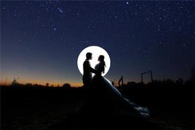 唯美婚纱客片欣赏--天空摄影