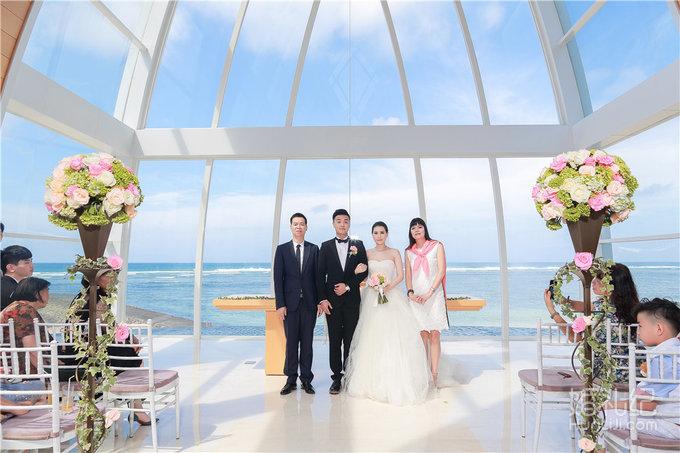 【芊寻海外婚礼】巴厘岛丽思卡尔顿教堂婚礼+晚宴