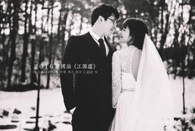 韩国清新浪漫婚纱旅拍--带着爱情行走