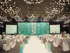 绿色清新主题婚礼——唯久依 爱巢主题