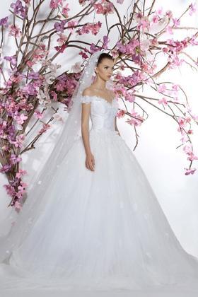 清新新娘礼服