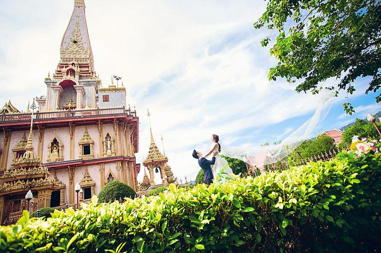 旅拍泰国站-纪实婚纱照系列样片