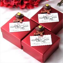 【成品】结婚 创意婚庆糖盒 个性小熊喜