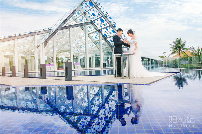 【芊寻海外婚礼】巴厘岛艾美天空教堂婚礼