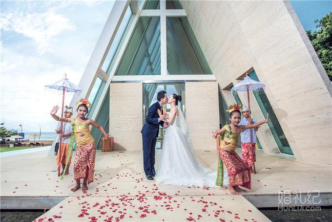 【芊寻海外婚礼】巴厘岛港丽无限教堂婚礼