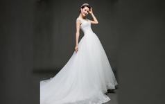 蘭墨韩式公主婚纱2680元定制